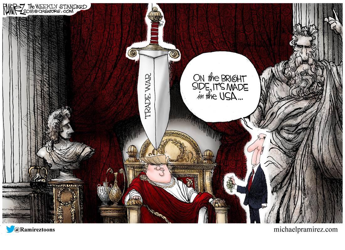 Sword Of Damocles Michael P Ramirez
